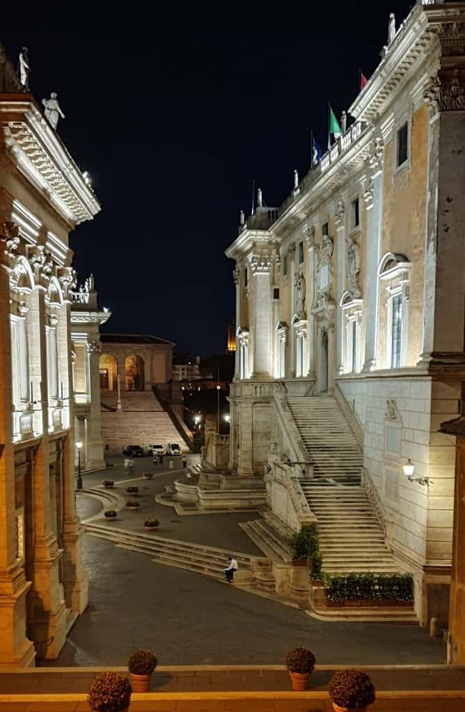 Visitare Piazza del Campidoglio a Roma