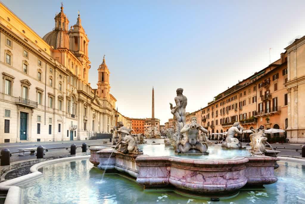 Piazza Navona, da non perdere se visitate Roma in una settimana