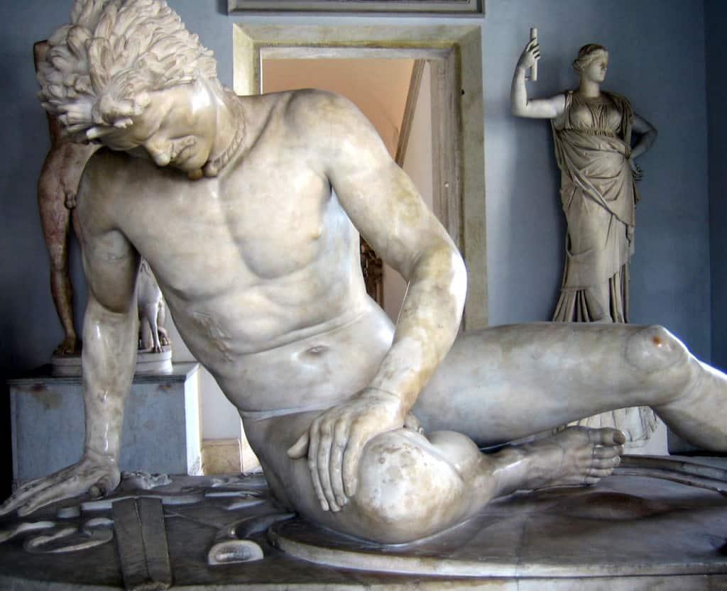 Visitare i Musei Capitolini: il Galata morente