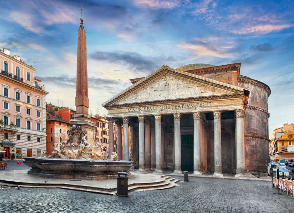 Il Pantheon, una delle attrazioni da visitare a Roma in una settimana