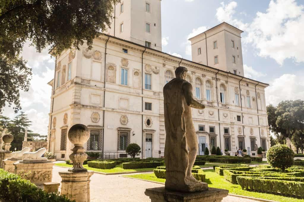 La Galleria borghese a Roma