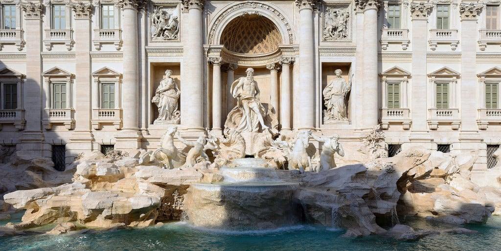La Fontana di Trevi, tra le attrazioni principali di Roma