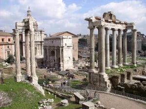 Il Foro Romano, una delle attrazioni di Roma