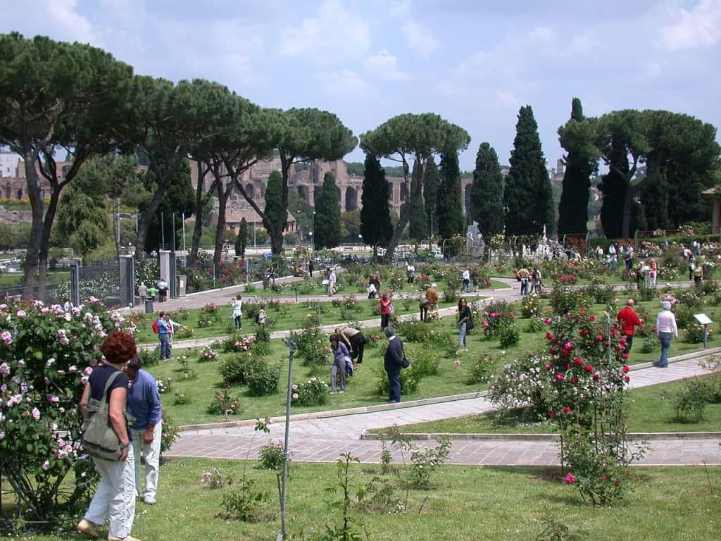 Visitare Roma - Il roseto comunale