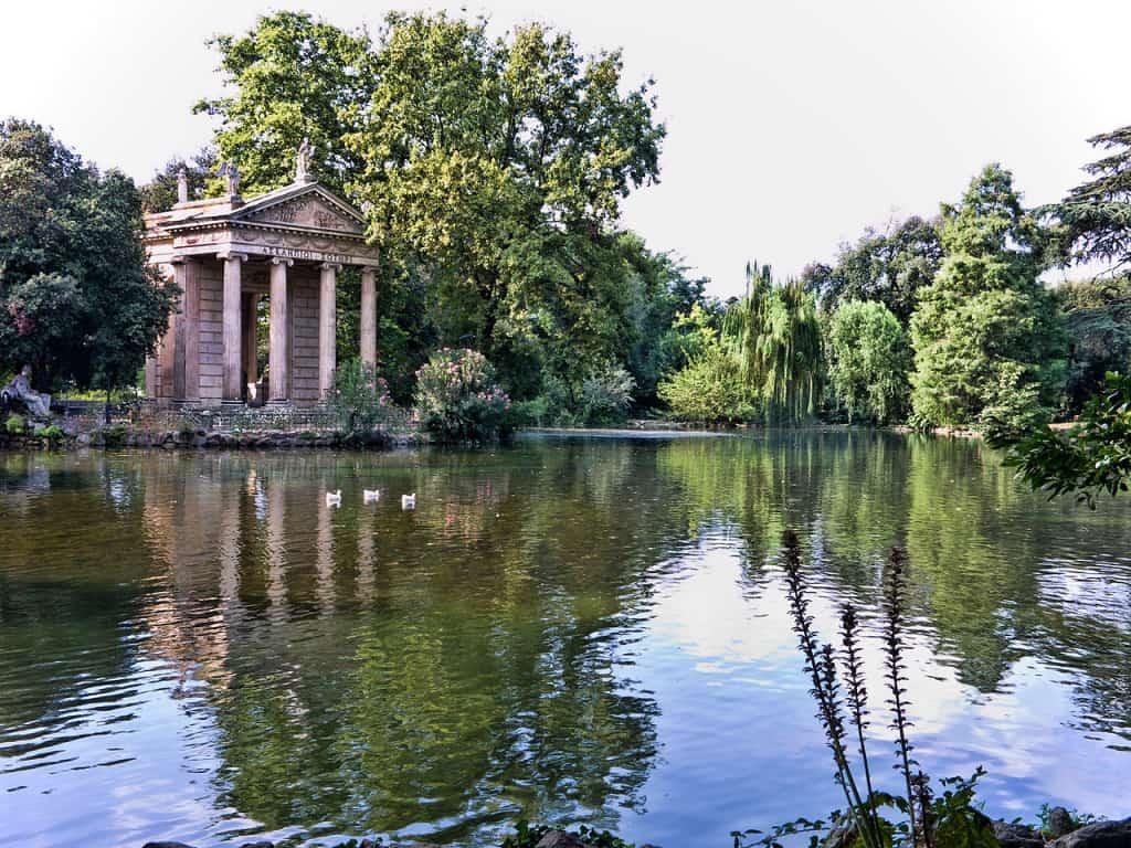 Villa Borghese, ideale se volete visitare Roma con bambini