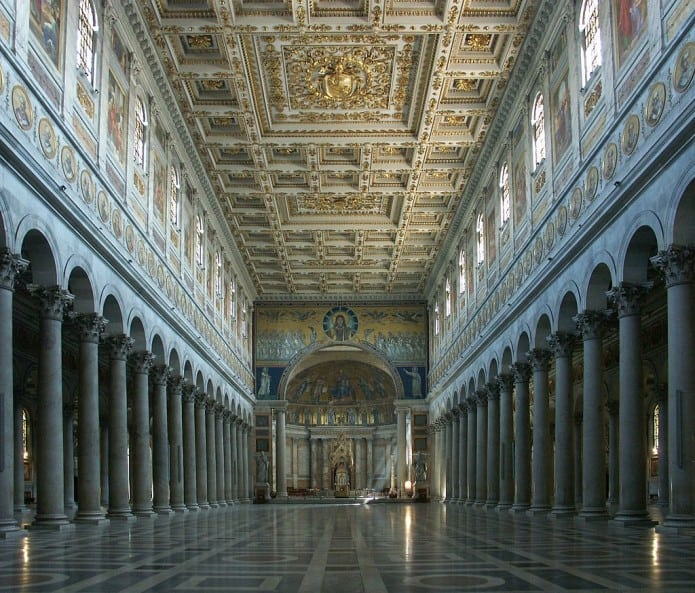 Visitare le chiese di Roma in 3 giorni. Basilica di S. Paolo Fuori le Mura