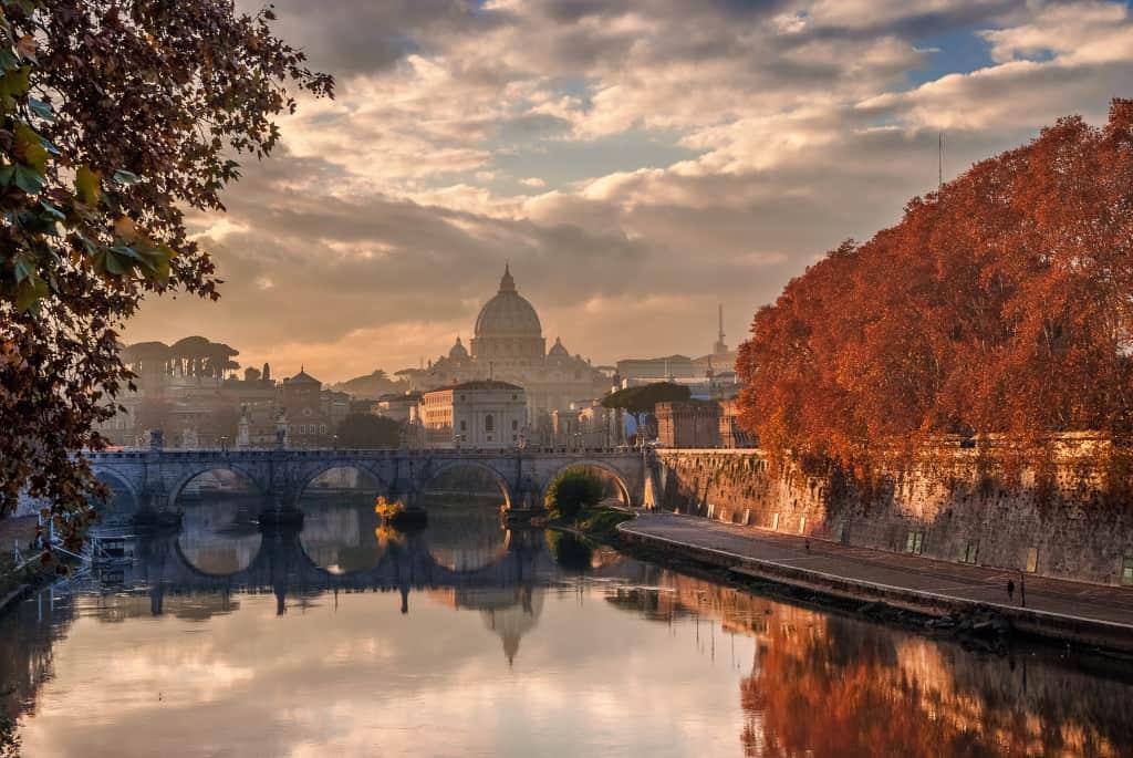 l'autunno è uno dei periodi migliori per visitare Roma