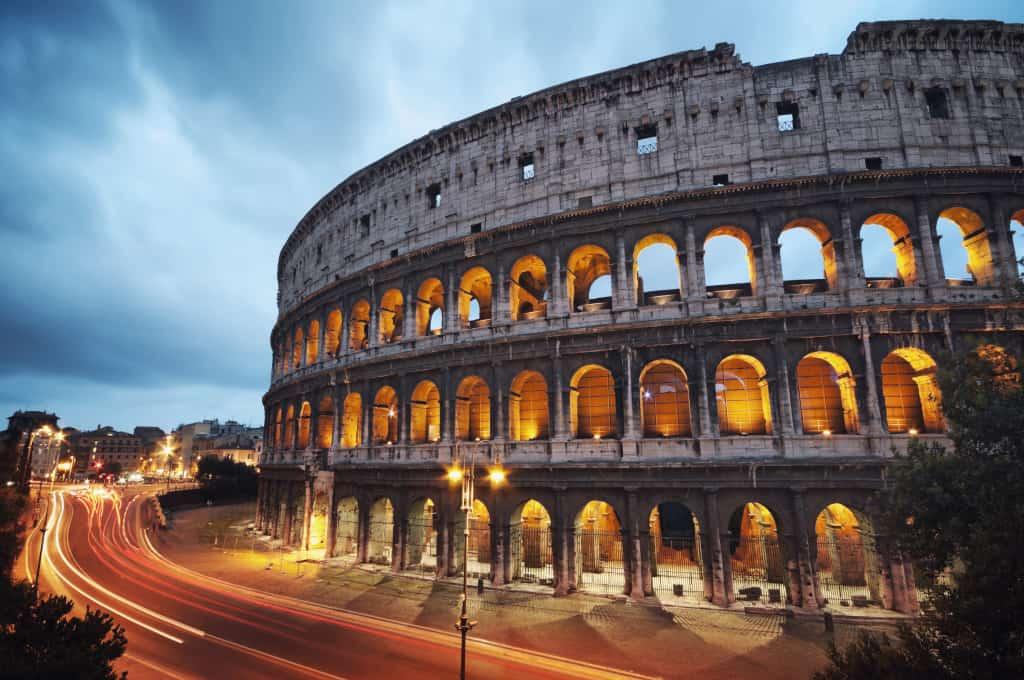 Il Colosseo, simbolo e principale attrazione di Roma