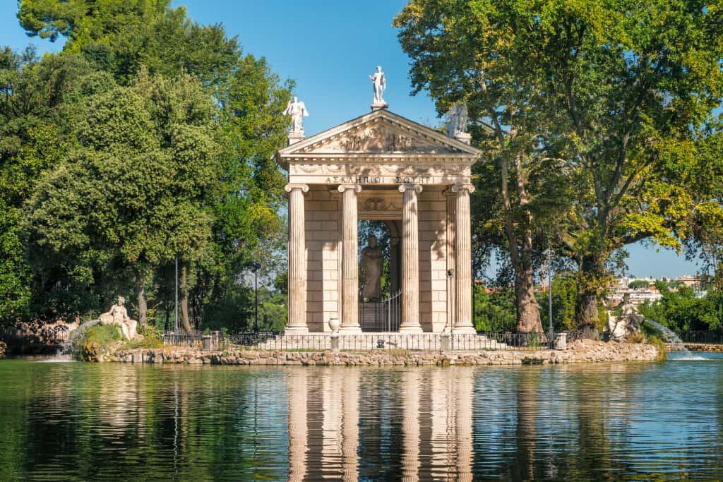 A Roma con bambini: i giardini di Villa Borghese