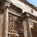 L'arco di Costantino a Roma, una delle tante attrazioni da visitare