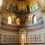 L'abside della Basilica di San Giovanni in Laterano a Roma