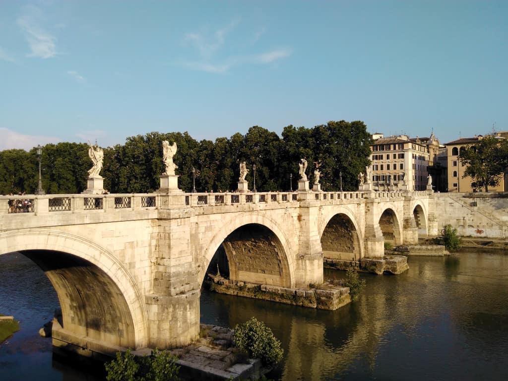 Visitare Roma: il ponte Sant'Angelo