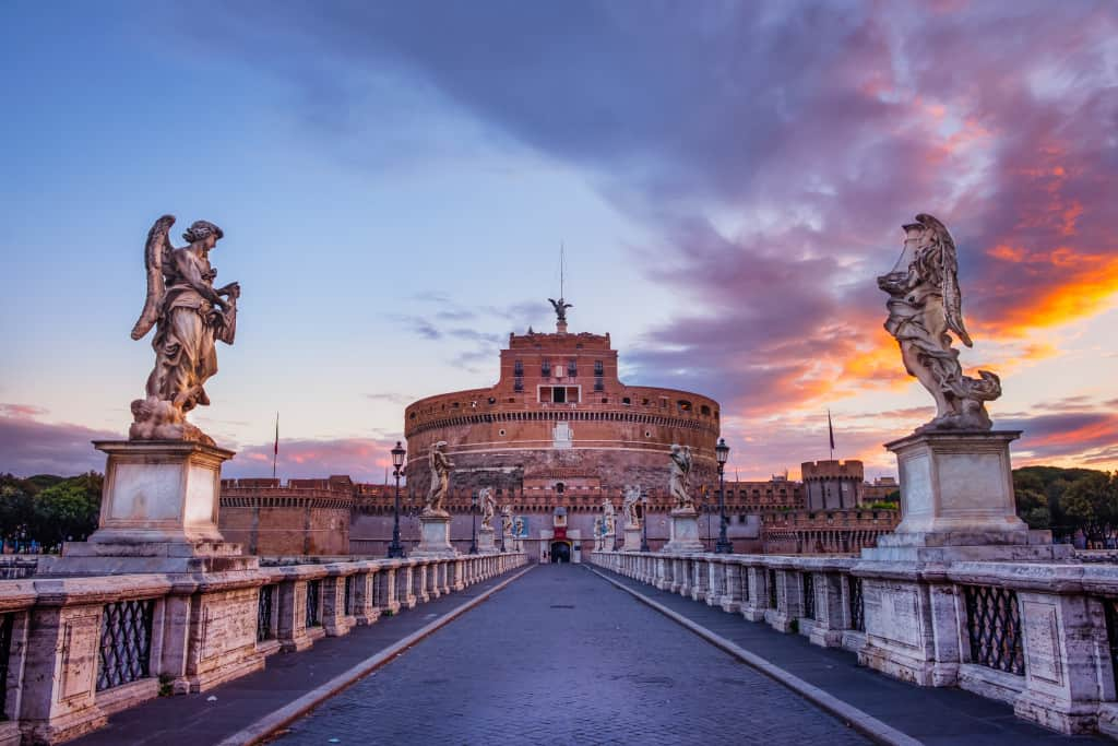Visitare città del Vaticano: Castel sant'angelo