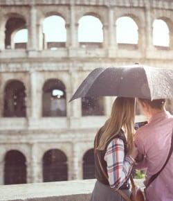 Visitare Roma in 2 giorni con la pioggia