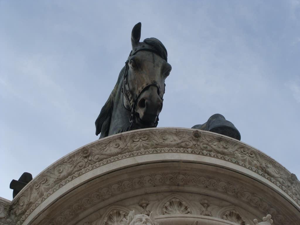 Visitare Roma: l'altare della patria in piazza Venezia